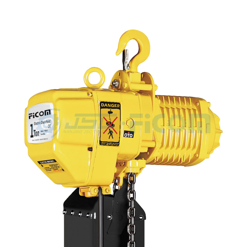 Electric Chain Hoist Model: STD (Capacity: 0.5 to 5Ton, Single Speed)