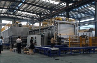 basket less Heat Treatment Line for Aluminum Wheel