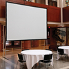120'' Fast Fold Projector Screen With Front And Rear Projection