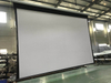 China High Quality HD 400 Inch Large Motorized Projection Screen/Electric Projector Screen for Project