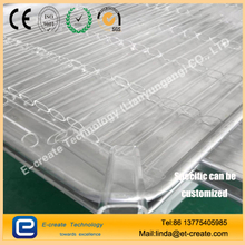 Clear Fused Quartz Rectangular Tube