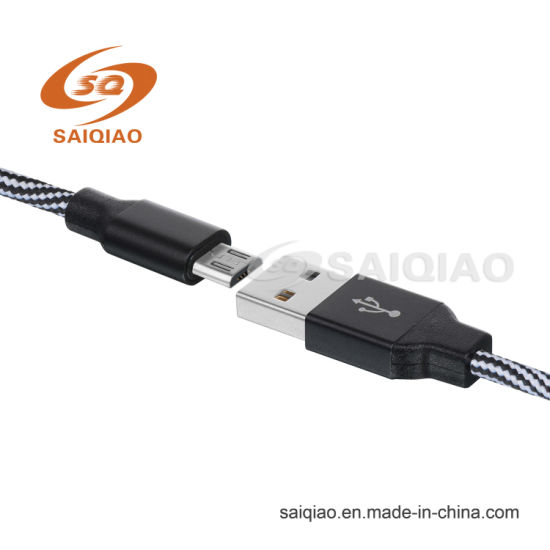 Triangle Spiral Tape USB Cable for Android