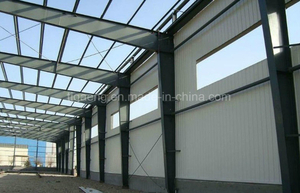 High Quality Heavy-Duty Workshop/Steel Warehouse Project for Cameroon