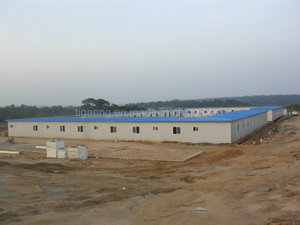 Low Cost EPS Sandwich Wall Panels Portable House/Prefabricated Office