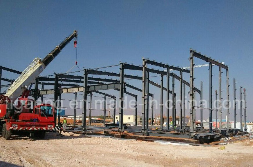 Factory Price Heavy Structure Workshop/ Steel Structure for Durban