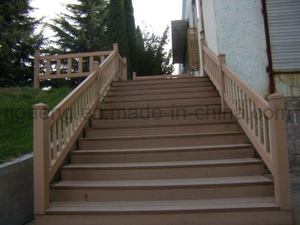 Easy Cleaning Anti-Crack Solid WPC Outdoor Decking Floor