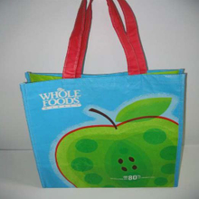 nonwoven coated shopping bag
