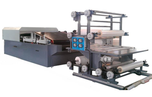 Flat bed lamination machine