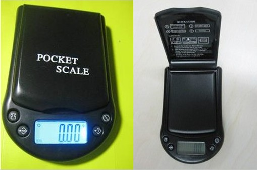Pocket Scale for Tea Leaves