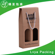 factory custom quality luxury foldable paper gift box with window