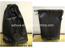 Non Woven Drawstring Bag Black Color (LYD16)