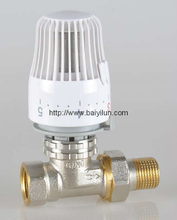 Thermostatic radiator Straight valve