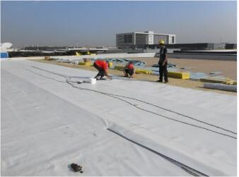 PVC Roof Garden Waterpoofing Membrane