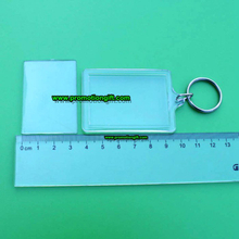 Acrylic photo keyring-50*35MM