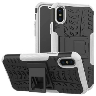 Shockproof Full Cover Pritective PC+TPU Phone Case for iPhone X