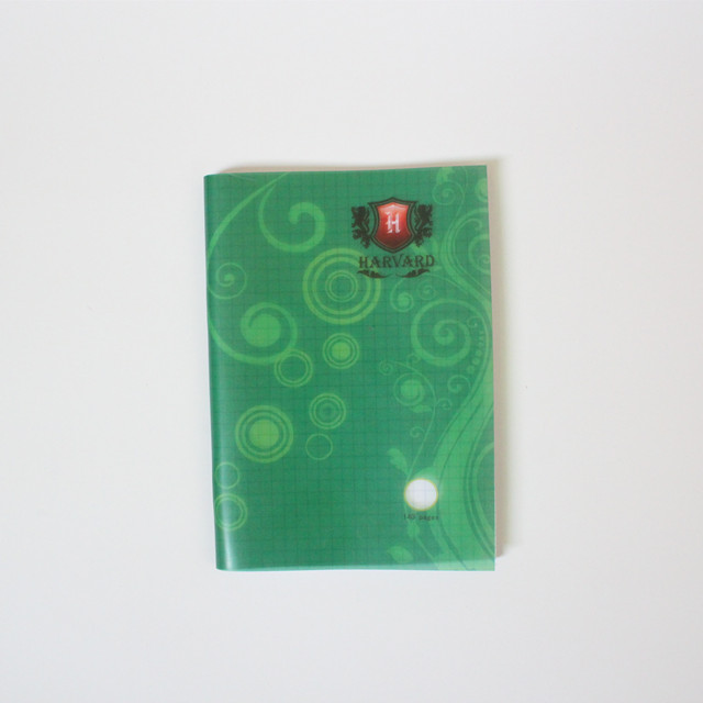 PP cover 5*5 mm square notebook