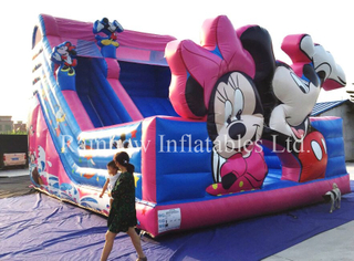RB6073(9x6m) Inflatable Customize Cartoon Theme Slide for Kids and Children, Inflatable High Slide