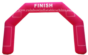 RB21032(8x5m) Inflatable Welcome Arch/Inflatable Customized Arch with Velcro Logo