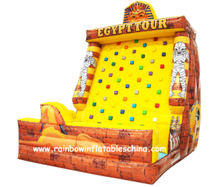 RB13015(5x4x6m) Inflatable Climbing Mountain/Inflatable Eygpt Theme Climbing Sport Game