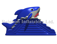 RB01045(7.5x4m)Inflatable Factory Made Shark Bouncer/Inflatable Slide With Shark