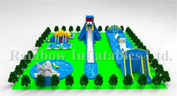 OEM/ODM inflatable amusement park , giant inflatable water park