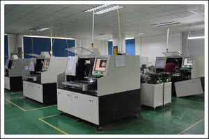 LED sign - LED-inserting machine