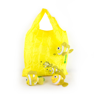 Foldable Gold Fish Grocery Bag