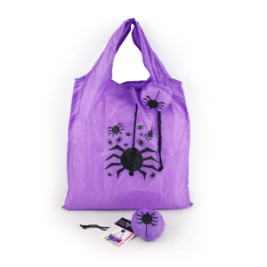 Foldable Halloween Spider Shopping Bag
