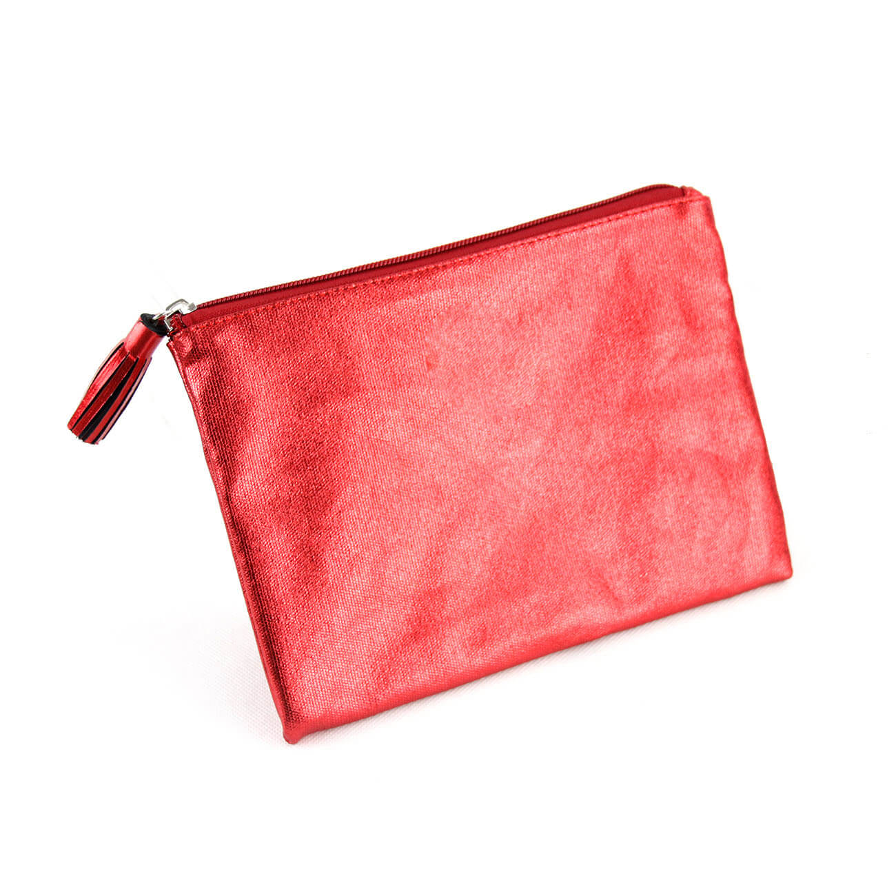 Laminated Canvas Cosmetic Pouch