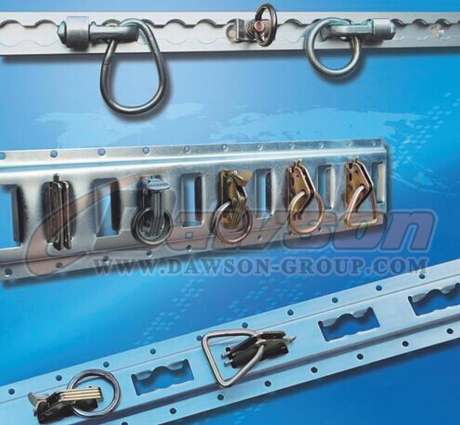 Aluminum Alloy Type Track Galvanized Track Powder Coated
