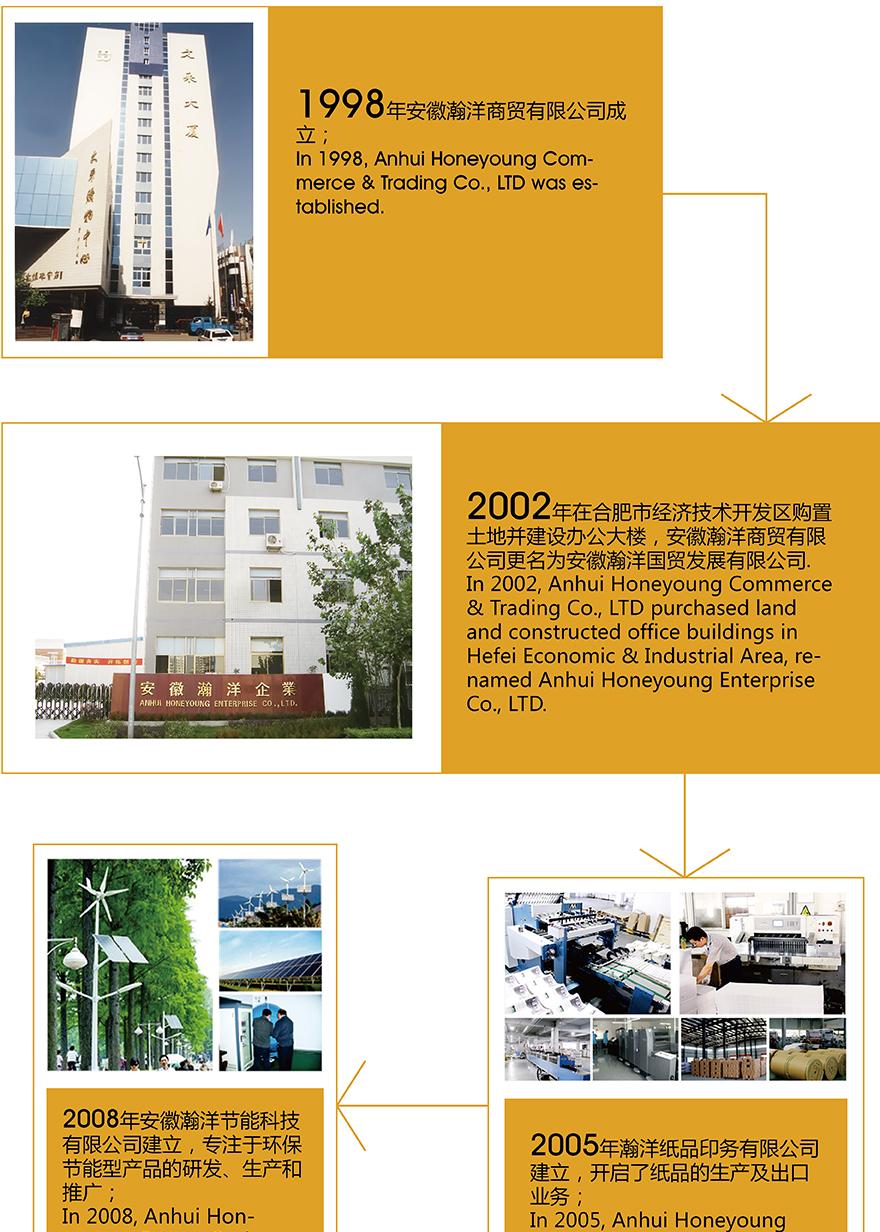 发展历史记录