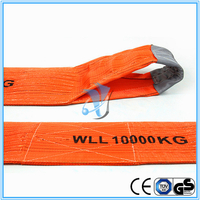 Safety Factor 7:1 300mm Width 10T Double Ply Polyester Webbing Sling