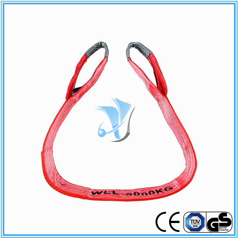 5000kg Polyester Webbing Slings Eye-Eye Type to EN1491-1