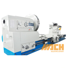 CW61220 Semi Automatic Metal Turning Heavy Duty Turning Machine