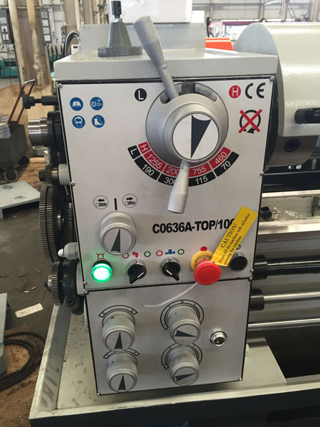 C0632A-TOP Economic Metal Mini Bench Lathe