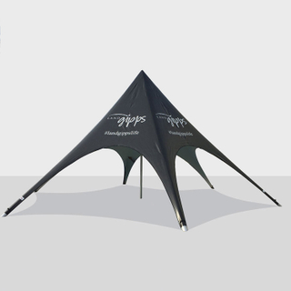 High quality outdoor shade for events patio white 10m Star tent
