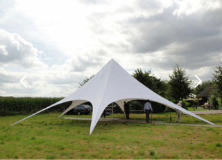 16M Large Spider Star White Tent, Huge Outdoor Party Tent