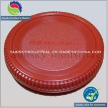 Plastic Cover Parts Injection Molding for Dust Cap Lens (PL18010)