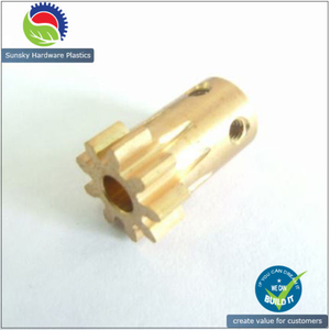 High Precision Micro/Mini Worm Gear, DC/AC Brass Worm Gear