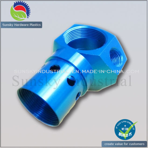 CNC Milled Machined Part for Aluminum Connector (AL12120)