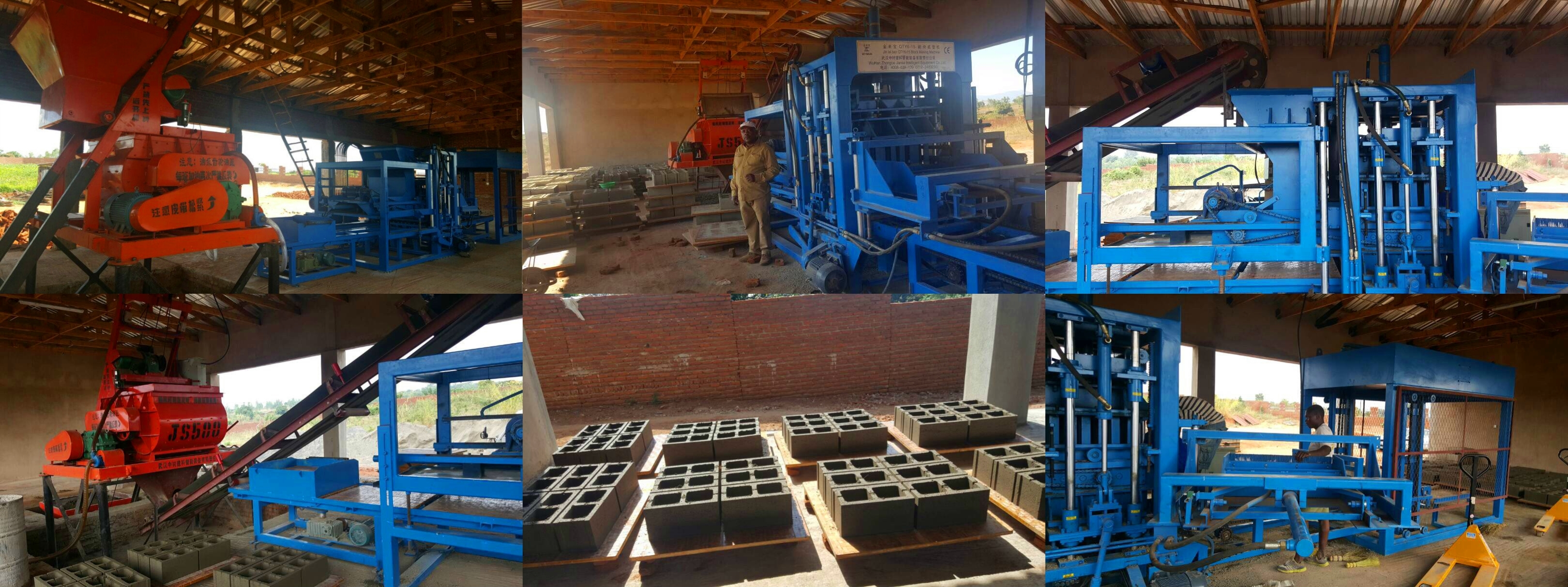 Блок вещества ZCJK Малави делая машину