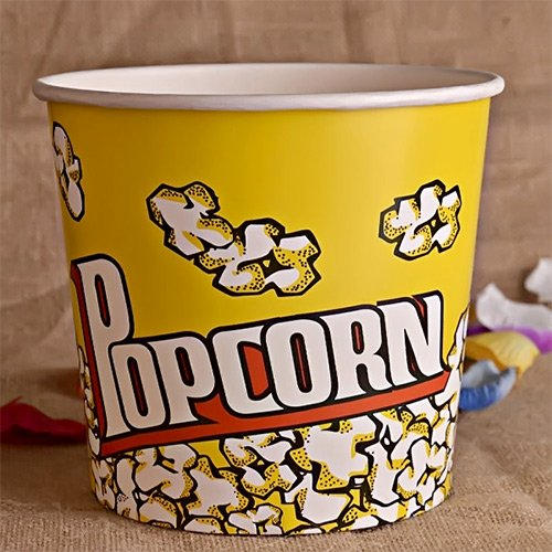 Disposable Popcorn Bucket