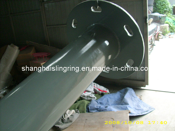 High Quality Stainless Steel Lighting Pole Powder Coating Surface Treatment