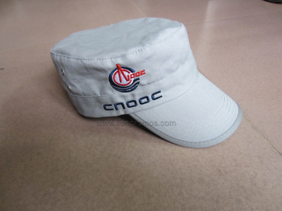 Logo Embroidery Promotional Army Cap