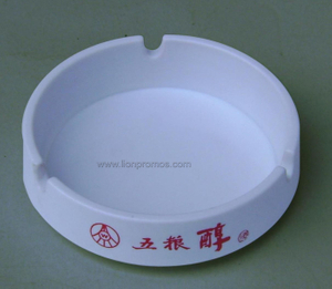 Beer Logo Printed Promotional Gift Melamine Ashtray