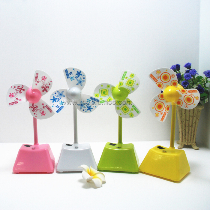 Summer Hot Promotional Gift USB Folding Cartoon Fan