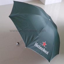 Heineken Beer Promotional Gift Folding Umbrella