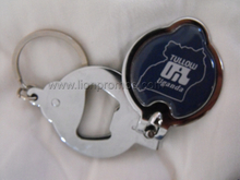 Tullow Oil Promotional Gift Epoxy Logo Nail Clipper with Bottle Opener