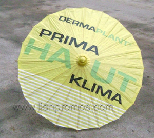 Custom Logo Chinese Traditional Oiled Paper Craft Umbrella