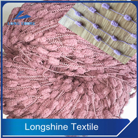 3.8NM/1 45% POLYESTER 55% VISCOSE FANCY LOOP YARN